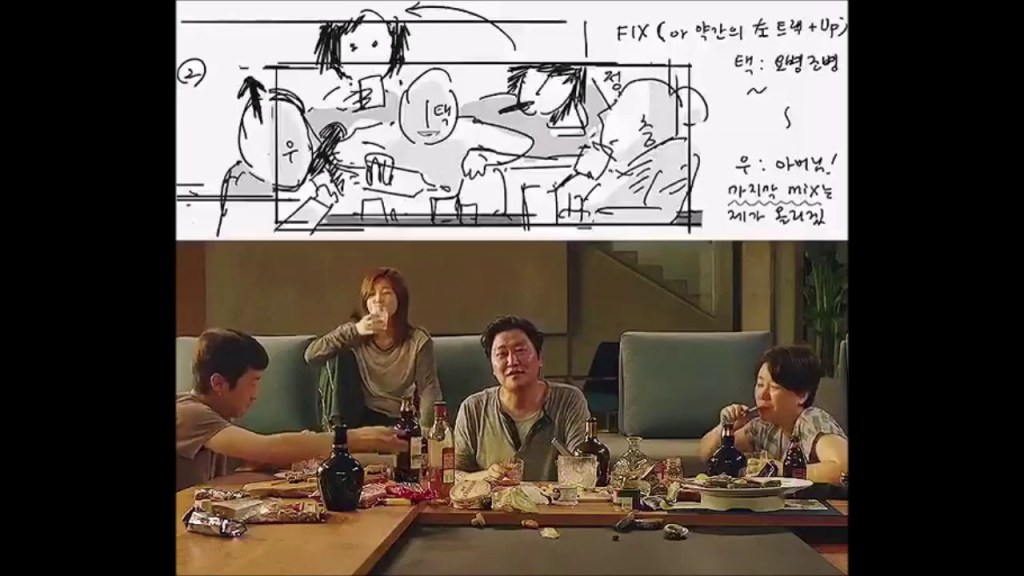 Bong Joon Ho's 'Parasite' Storyboards