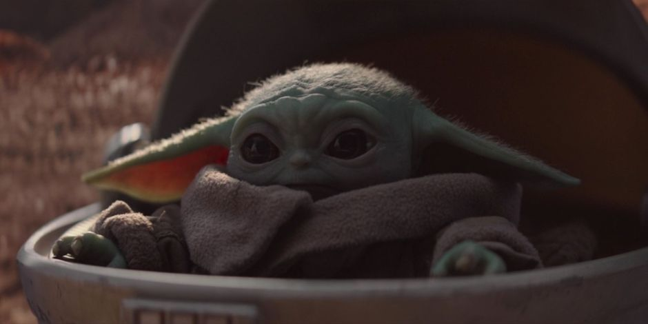 Baby Yoda in 'The Mandalorian'