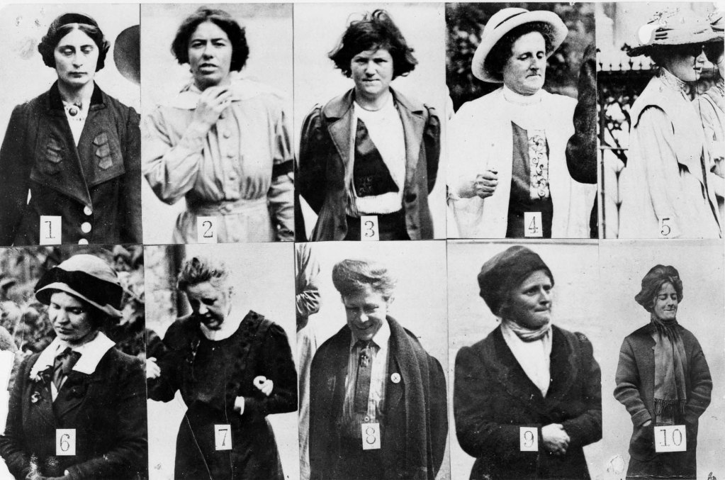 Suffragette Surveillance via The National Archives / Museum Crush