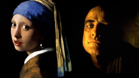 L to R: Johannes Vermeer's 'Girl with a Pearl Earring' (1665); 'Apocalypse Now' (1979)