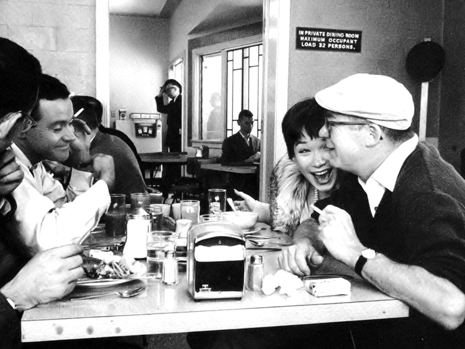 Jack Lemmon, Shirley MacLaine, and director Billy Wilder - 'The Apartment' (1960)