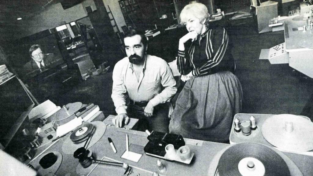 Director Martin Scorsese and Editor Thelma Schoonmaker