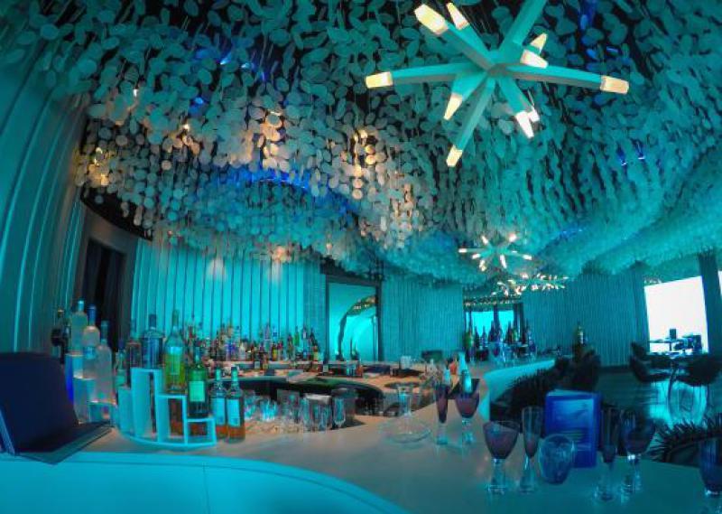 Underwater Restaurant Lets Guests Dine Six Meters Below