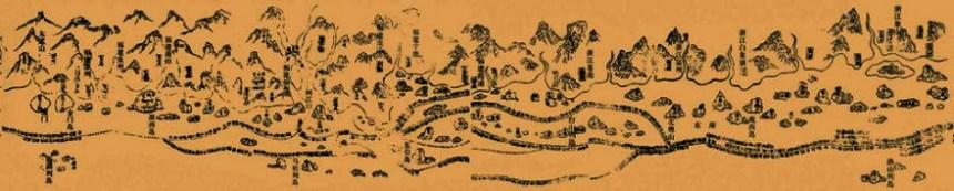 Zheng He's nautical chart