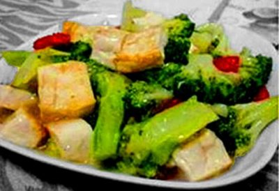 Tofu with Broccoli
