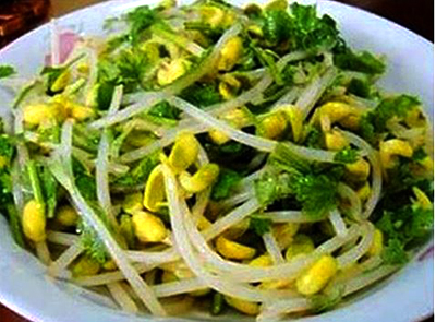 Stir Fry Soybean Sprouts