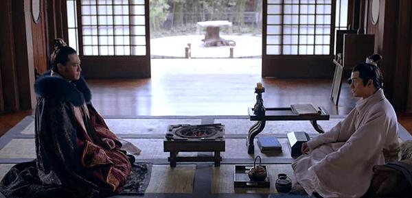 Prince Yu congratulating Mei Changsu