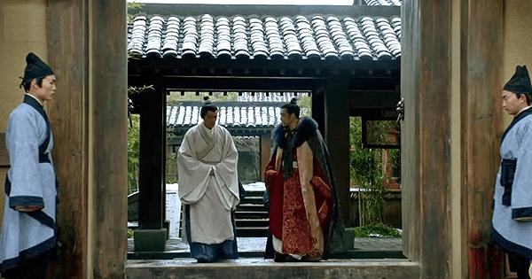Mei Changsu seeing off Prince Yu