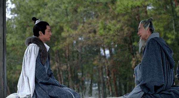 Mei Changsu meeting with old scholar
