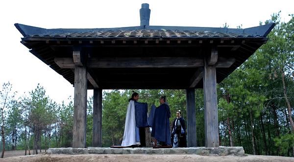 Mei Changsu bidding farewell to old scholar