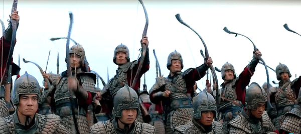 Ancient Chinese archery war