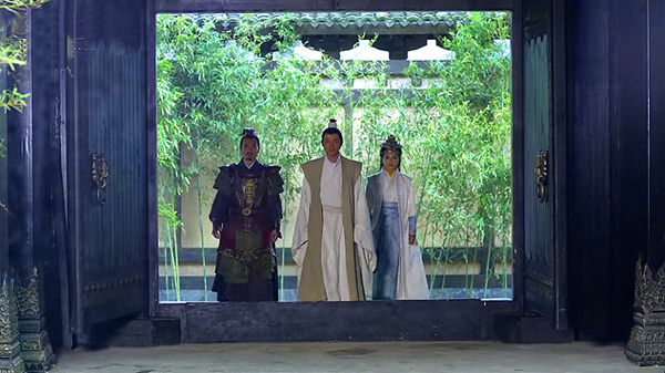 Mei Changsu returns home with Princess Nihuang and Commander Meng Zhi