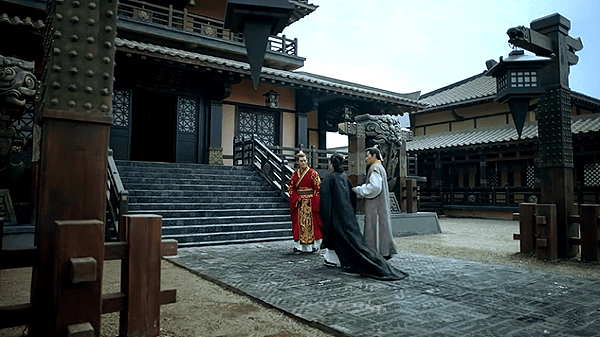A courtyard in Crown Prince Jing's mansion