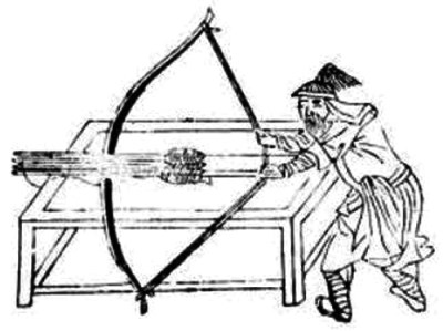Ancient Chinese crossbow