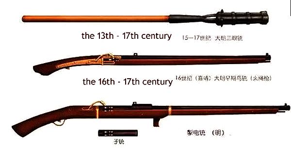 Ming Dynasty fire guns