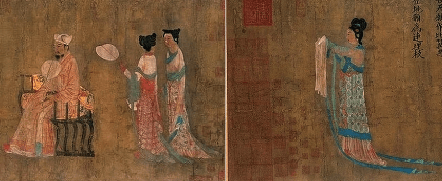 Emperor Xuanzong and Lady Yang,