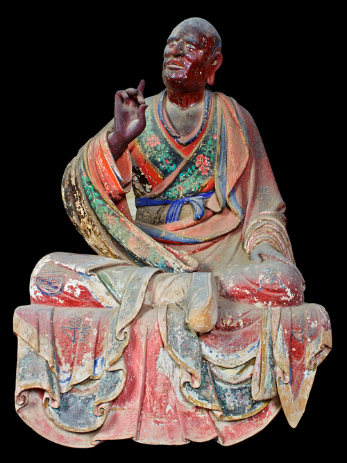 1,000-year-old Arhat statue