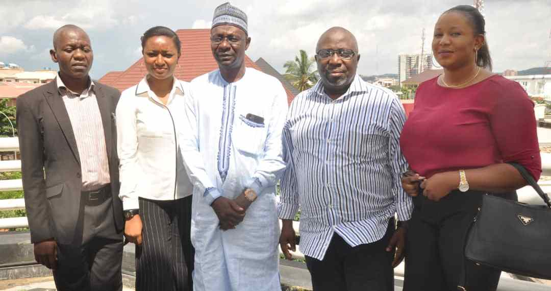 Viewpoint Housing News staff and Publisher Premium Times