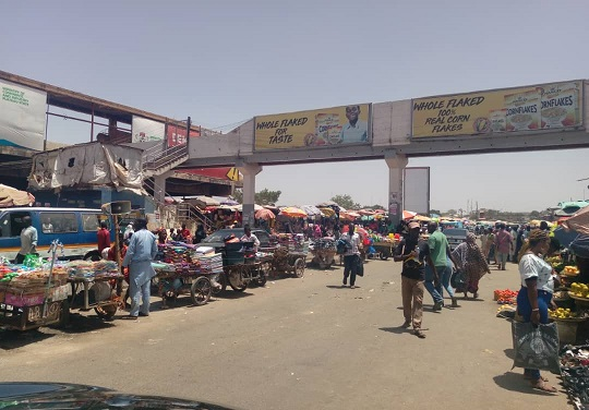 Redevelopment of the Jos main market