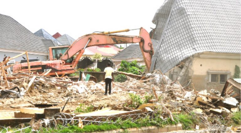 House owners kick as FCTA demolishes houses in Lokogoma