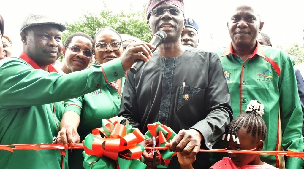 Sanwo-Olu commissions 492-flat housing estate