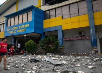 6.3 magnitude quake destroys houses, mall in southern Philippines