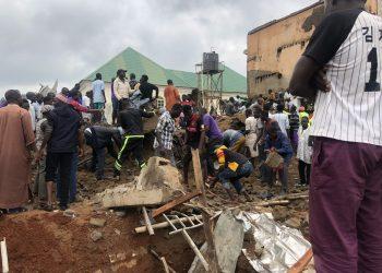 Breaking: 2-storey building goes down in Abuja