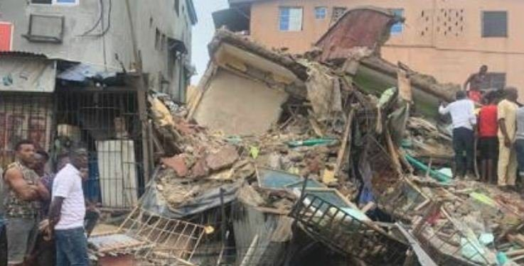 One-Storey Building Collapse in Delta State