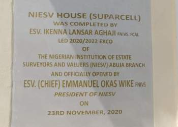 NIESV commission its (Suparcell) house
