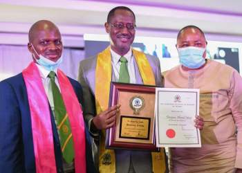 (CIBN) awards Dangiwa