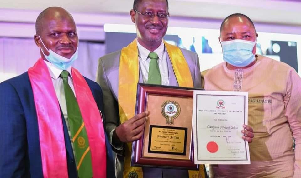 (CIBN) awards Dangiwa
