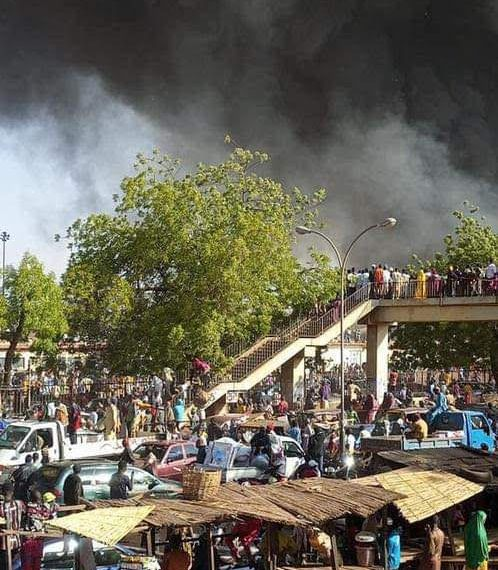 BREAKING: Fire consumes Sokoto central market