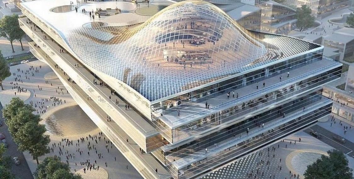 PHOTO NEWS: Architecture + technology