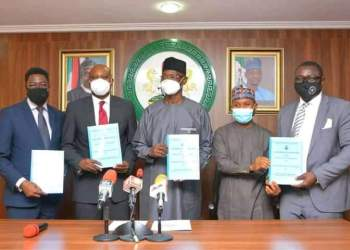 FMBN pens multilateral collaboration with FHA and Nasarawa state govt to provide 2,000 homes