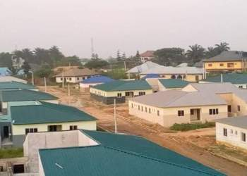 FMBN/labor union completes worker estate in Akwa-Ibom