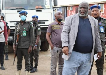 Lagos state government halts illegal construction of estate project