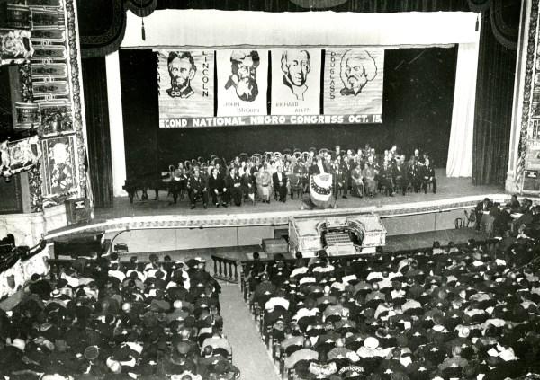 Second meeting of the Negro National Congress, Philadelphia 1937.