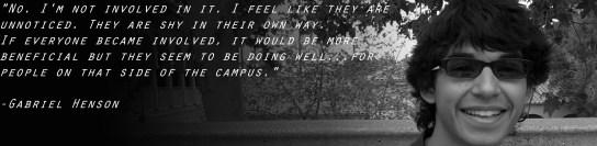 Gabriel Henson Campus Conversations