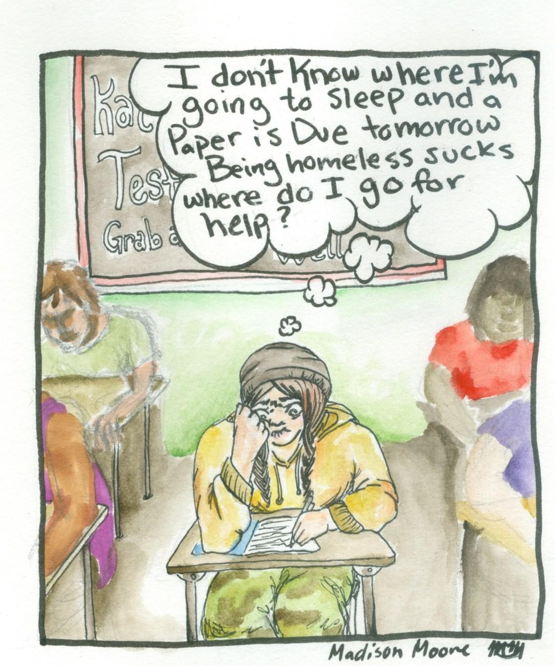 homelessness editorial maddison
