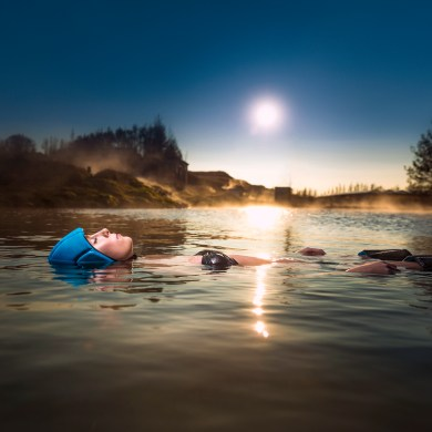 冰島 SPA 水療 FLOTHETTA 漂浮泳帽