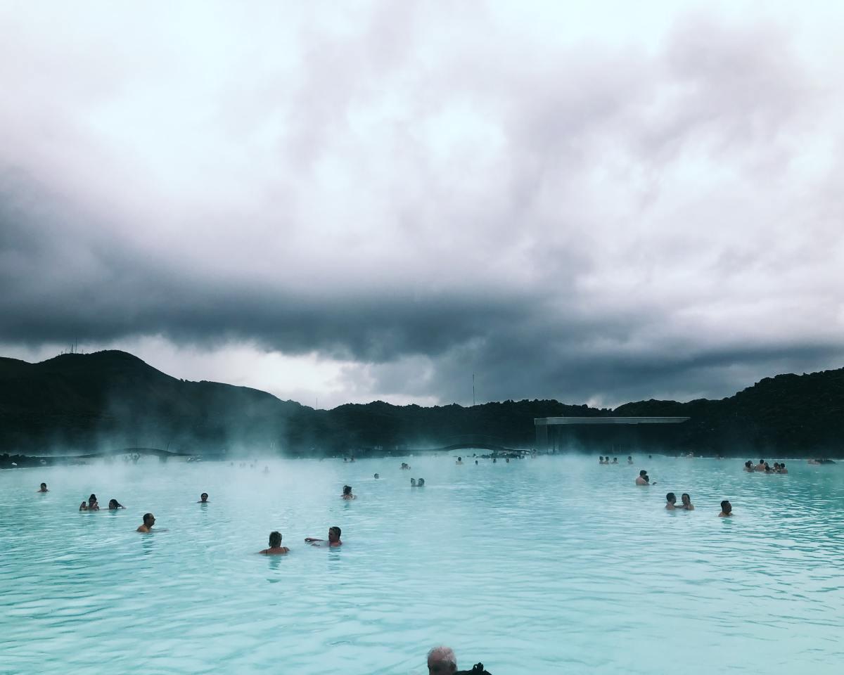 冰島 游泳 SPA 水療