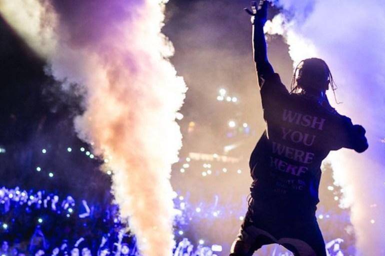 travis scott fortnite concert