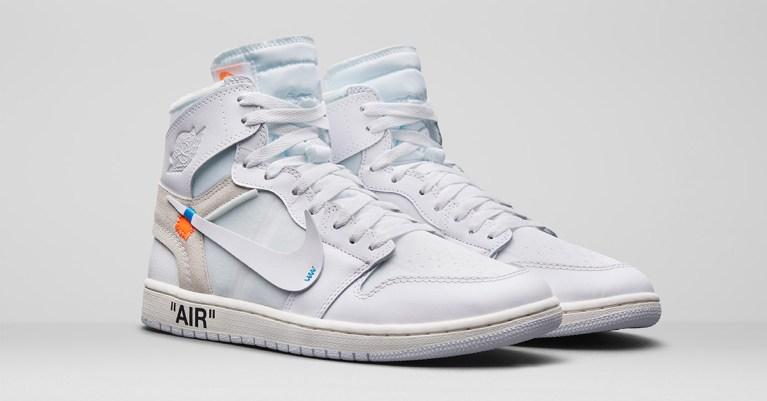 Sneakers Air Jordan 1 x Off-White
