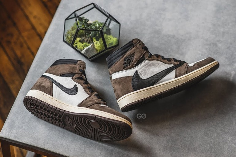 travis scott air jordan sneakers galerie lafayettes wethenew