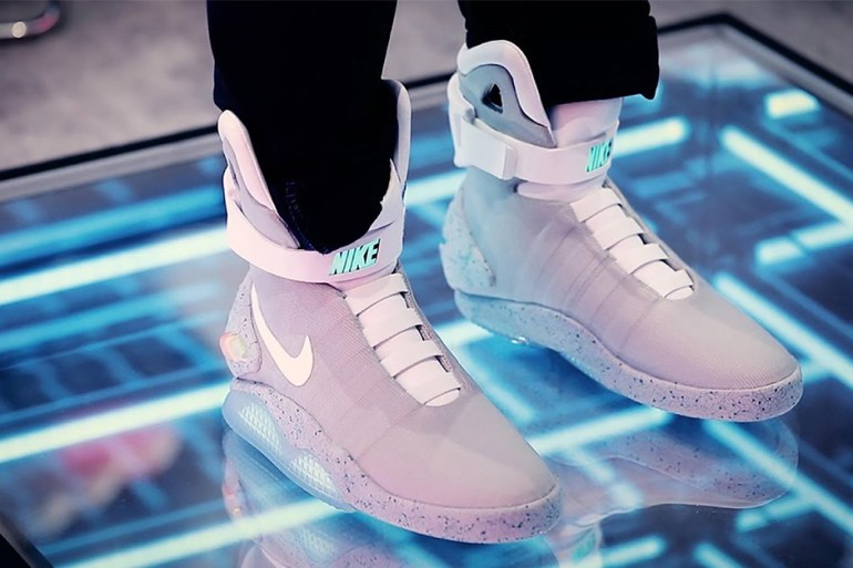 nike air mag sneakers plus chères