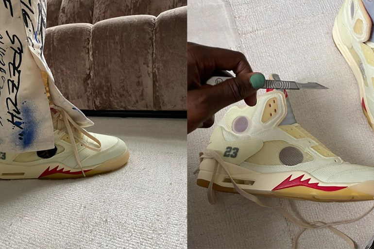 virgil abloh Off-White x Air Jordan 5