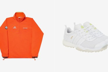 Palace Adidas golf collection