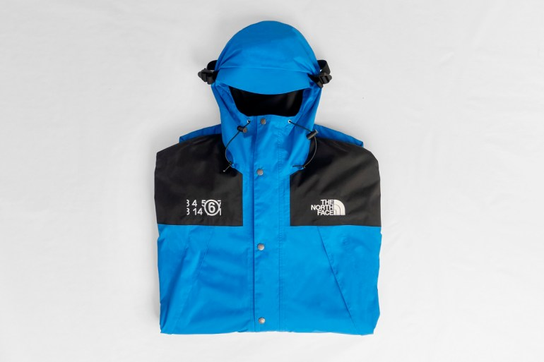 the north face mm6 maison margiela collaboration collection