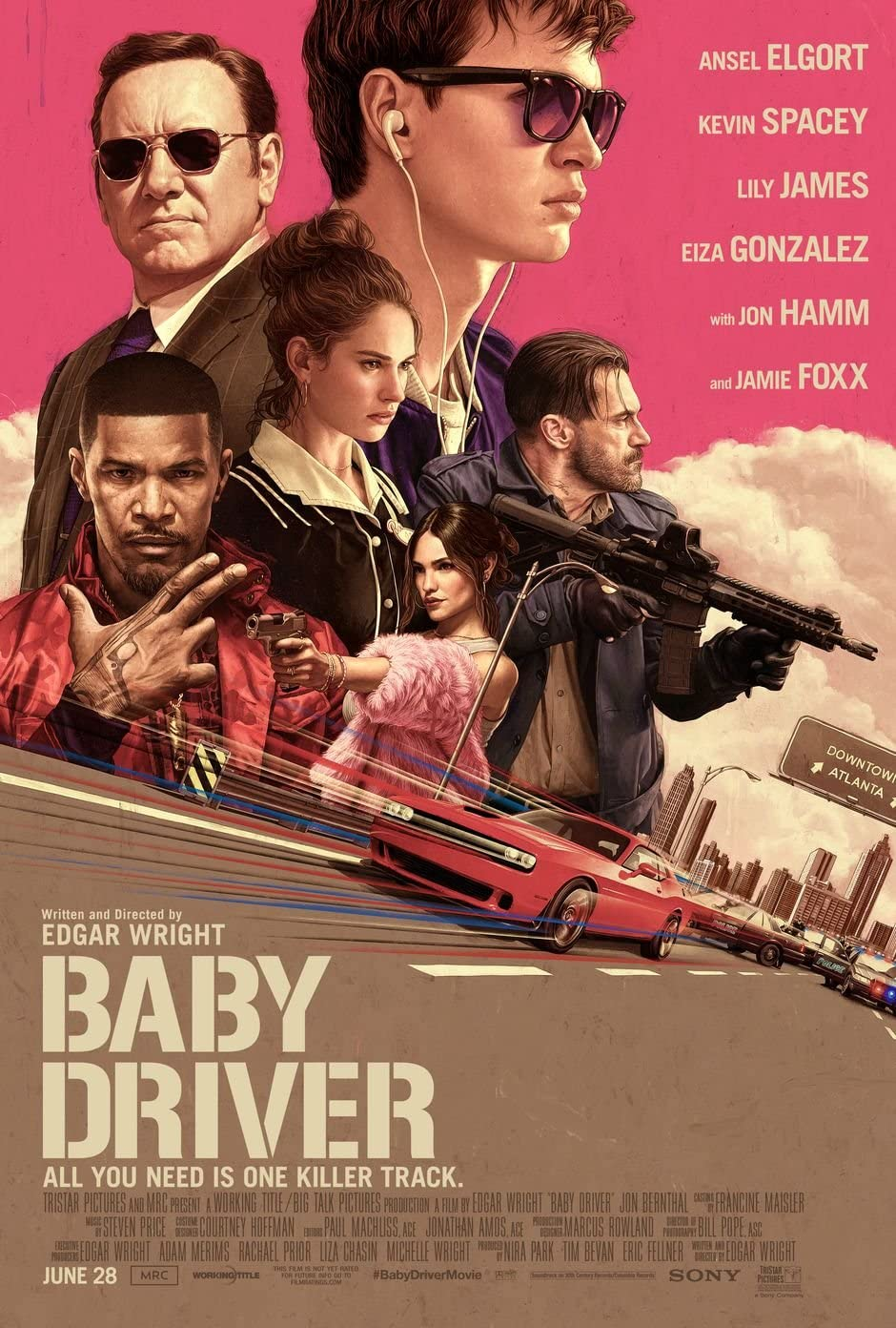 baby driver affiche poster
