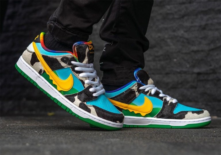 nike sb dunk low ben & jerry's
